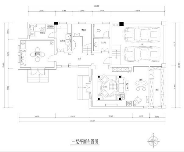 龙湖长桥郡别墅装修效果图-15