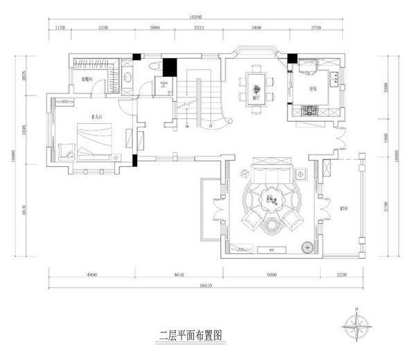 龙湖长桥郡别墅装修效果图-16